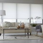 White Window Roller Shades
