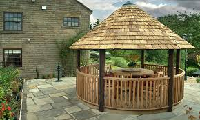 Wooden Gazebo - Patio