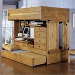 Wooden Loft Bunk Beds