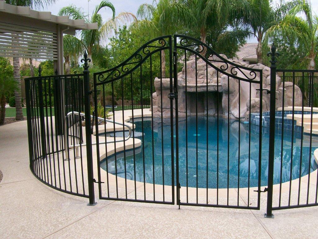 Wrought Iron Fence Qnud