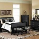 Zebra Bedroom Benches